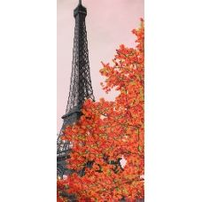 F-294a (24*55) Осенний Париж. Схема для вышивки бисером СвитАрт