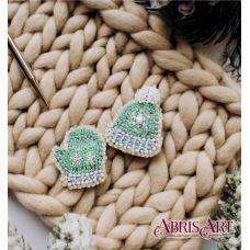 AD-025 Зимушка-зима. Набор для вышивки бисером украшения ТМ Абрис Арт