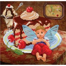 БИС-1715н Вишнево-шоколадное счастье. Набор для вышивки бисером Арт Лар