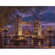 FLF-041 Лондонский мост. Набор на холсте для вышивки бисером Волшебная Страна
