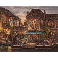 FLF-043 Венеция. Набор на холсте для вышивки бисером Волшебная Страна