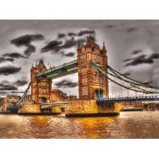 FLF-088 Лондонский мост. Набор на холсте для вышивки бисером Волшебная Страна