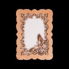 FLH-001 Канва для вышивания нитками в рамке Волшебная страна