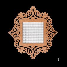 FLH-012 Канва для вышивания нитками в рамке Волшебная страна