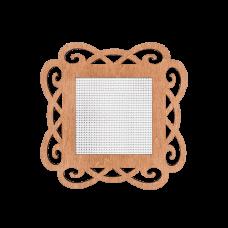 FLH-018 Канва для вышивания нитками в рамке Волшебная страна