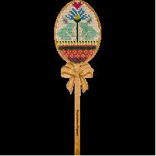 FLK-081 Набор для вышивания бисером по дереву Волшебная страна