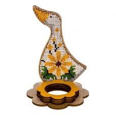 FLK-268 Набор для вышивания бисером по дереву Волшебная Страна