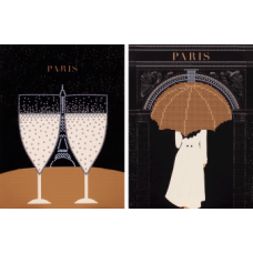 FLS-044D Париж-1. Схема для вышивки бисером. Волшебная Страна