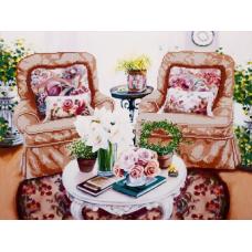 FLS-062 Домашний уют. Схема для вышивки бисером. Волшебная Страна