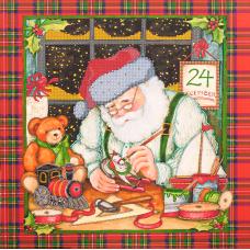 FLS-069 Новогодние чудеса. Схема для вышивки бисером. Волшебная Страна