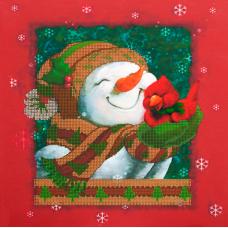 FLS-070 Новогоднее настроение. Схема для вышивки бисером. Волшебная Страна