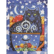 FLS-099 Созвездие кошки. Схема для вышивки бисером. Волшебная Страна