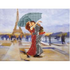 FLS-106 Танго в Париже. Схема для вышивки бисером. Волшебная Страна
