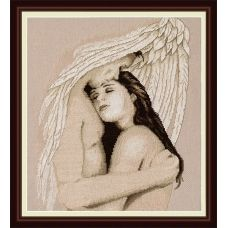 VN-045 Мой ангел. Набор для вышивки нитками. ТМ Olanta