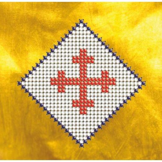 КМР-6101 Славянский символ. Вечный огонь. Схема для вышивки бисером Краина Моих Мрий