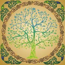 FV-200(27*27) Дерево. Схема для вышивки бисером. Свит Арт