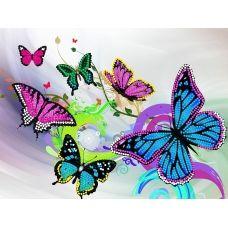 FV-206 (А4) Бабочки. Схема для вышивки бисером. Свит Арт
