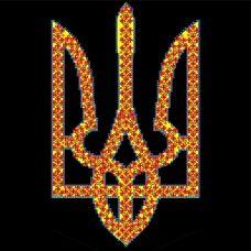 FV-224(27*27) Символика(черный фон). Схема для вышивки бисером. Свит Арт