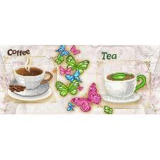 FV-286 (24*55) Кофе и чай. Схема для вышивки бисером. Свит Арт