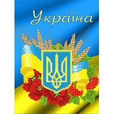 FV-325 (А4) Украина. Схема для вышивки бисером СвитАрт