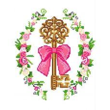FV-336 (А4) Ключ от счастья. Схема для вышивки бисером СвитАрт