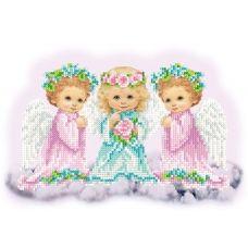 FV-427 (А4) Ангелочки. Схема для вышивки бисером СвитАрт