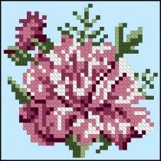 ФЧК-6013 Гвоздика. Схема для вышивки бисером Феникс