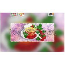 FV-002(15*30) ХОЛСТ. Чай. Схема для вышивки бисером. Свит Арт