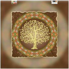 FV-199(32*32) ХОЛСТ. Дерево. Схема для вышивки бисером. Свит Арт