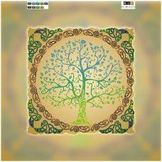 FV-200(32*32) ХОЛСТ. Дерево. Схема для вышивки бисером. Свит Арт