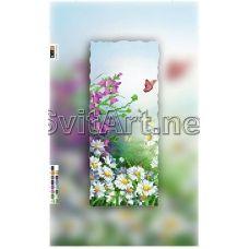 SI-083c(15*30) ХОЛСТ. Цветы. Схема для вышивки бисером Свит Арт