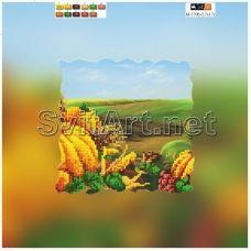 SI-170b(21*21) ХОЛСТ. Урожай. Схема для вышивки бисером Свит Арт