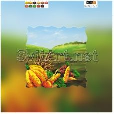SI-170с(21*21) ХОЛСТ. Урожай. Схема для вышивки бисером Свит Арт