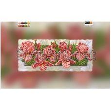 SI-318a(15*30) ХОЛСТ. Цветы. Схема для вышивки бисером СвитАрт