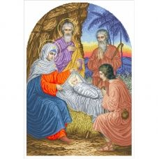 І-РХ (набор) Рождество Христово. Набор для вышивки бисером БС Солес