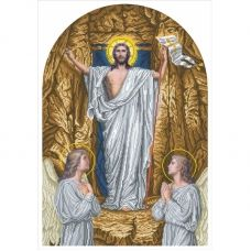 І-ВХ (набор) Воскресение Христово. Набор для вышивки бисером БС Солес