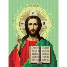 12b Иисус. Схема для вышивки бисером СвитАрт