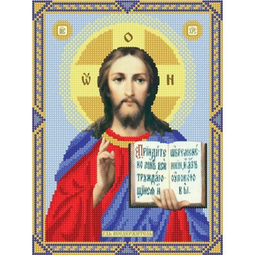 12d Иисус. Схема для вышивки бисером СвитАрт