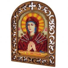 IKF-04 Святая Богородица Семистрельная. Набор для вышивки бисером ТМ Вдохновение