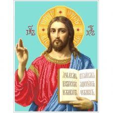 ІН (набор) Иисус (наместная). Набор для вышивки бисером БС Солес