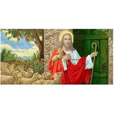 ІСД-В (набор) Иисус стучит в двери (большая). Набор для вышивки бисером БС Солес