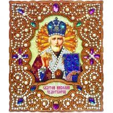 IZN-003 Святой Николай Чудотворец. Набор для вышивки бисером ТМ Вдохновение