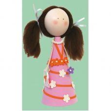 К-005 Леночка. Набор для изготовления куклы. ТМ Чаривна Мить