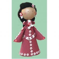 К-009 Сафо. Набор для изготовления куклы ТМ Чаривна Мить