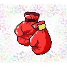 К-105  Бокс. Водорастворимый флизелин для вышивки Confetti