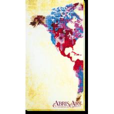 АВ-463 Карта мира. Набор для вышивки бисером. Абрис Арт