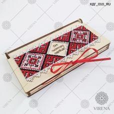 КДГ_010_RU Коробочка-конверт От чистого сердца! под вышивку ТМ Virena