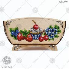 КДС_001 Корзинка для сладостей под вышивку бисером ТМ Virena