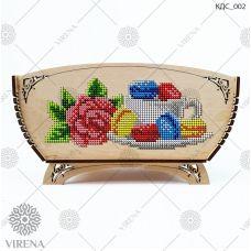 КДС_002 Корзинка для сладостей под вышивку бисером ТМ Virena