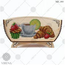 КДС_003 Корзинка для сладостей под вышивку бисером ТМ Virena